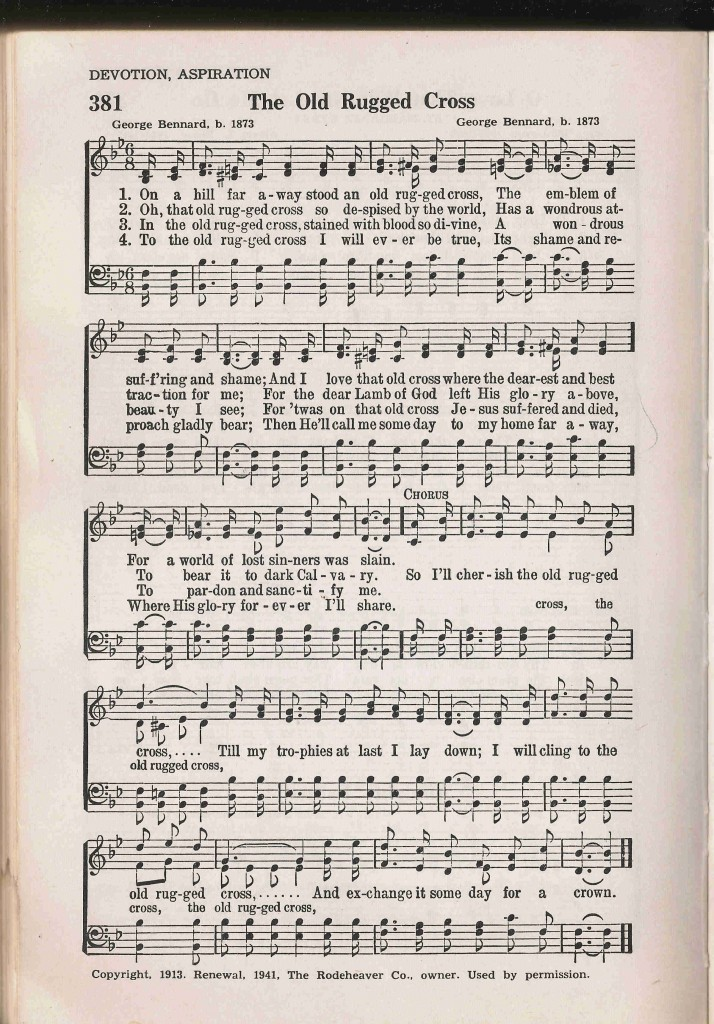 This hymn is often cited as a sort of shorthand for the vapidity of the sentimentality of much Christian church music.