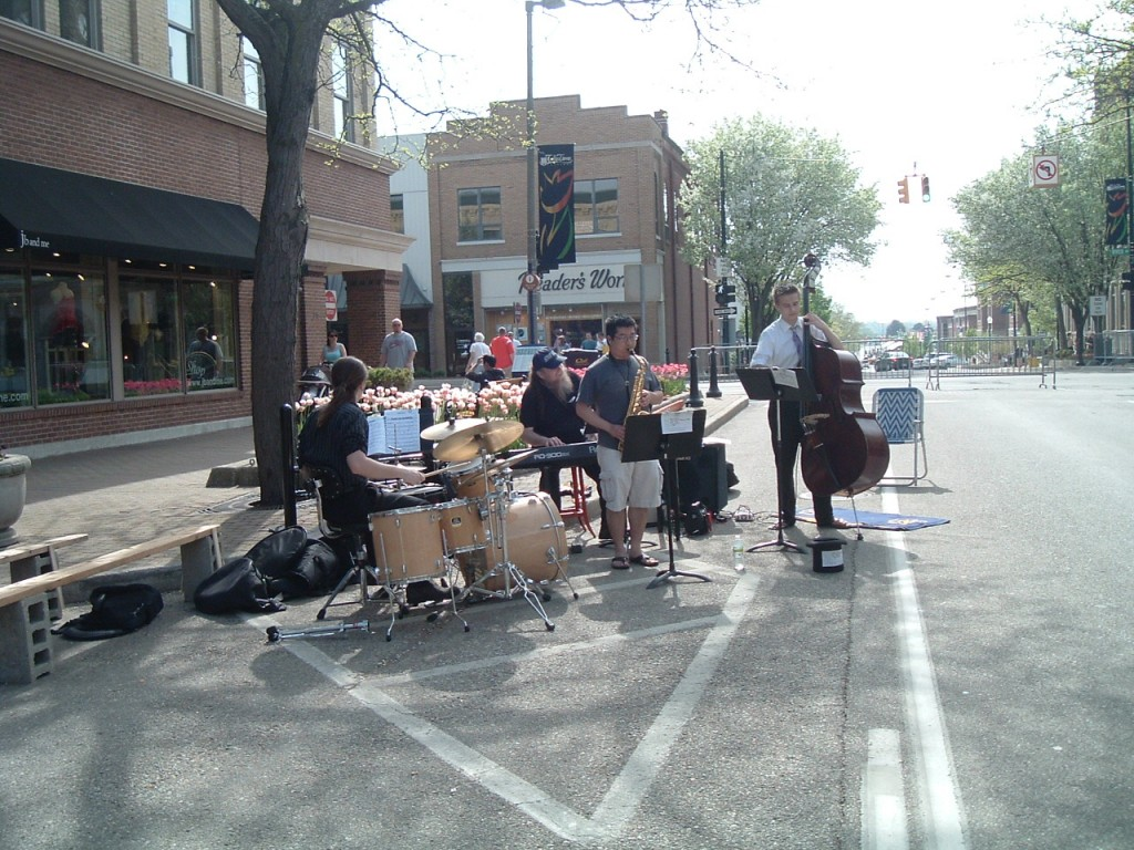 Eileen took this one. Roman Tarchinski on drums and Nate Walker on bass along with Jordan and me again.