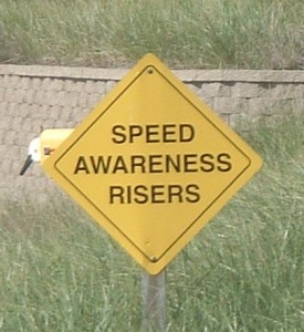 This is new speak for speed bumps I guess.